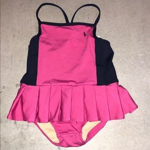 Ralph Lauren baby girls bathing suit 12 mths